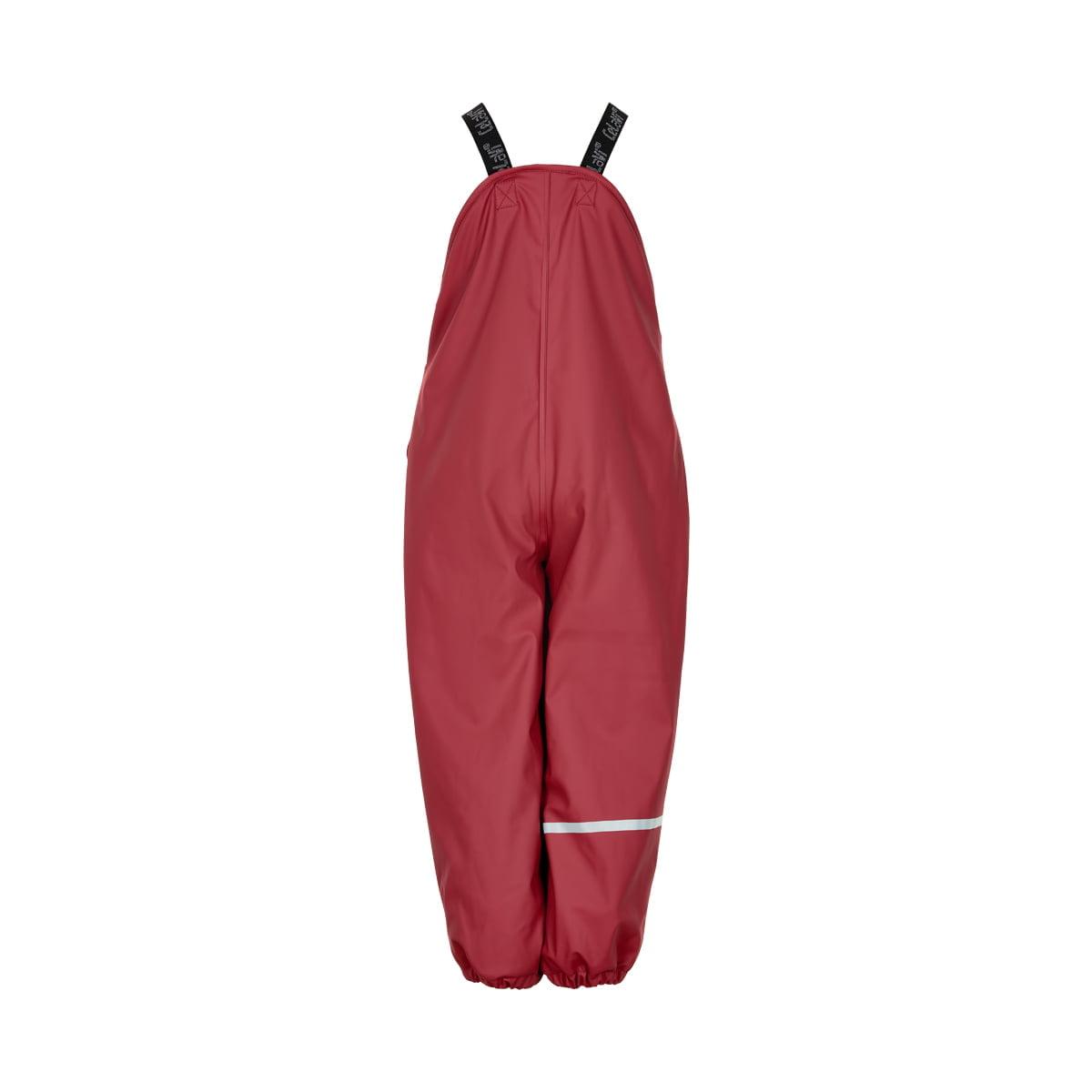 Pantaloni de ploaie și vânt căptușiți integral cu fleece rio red CeLaVi 2