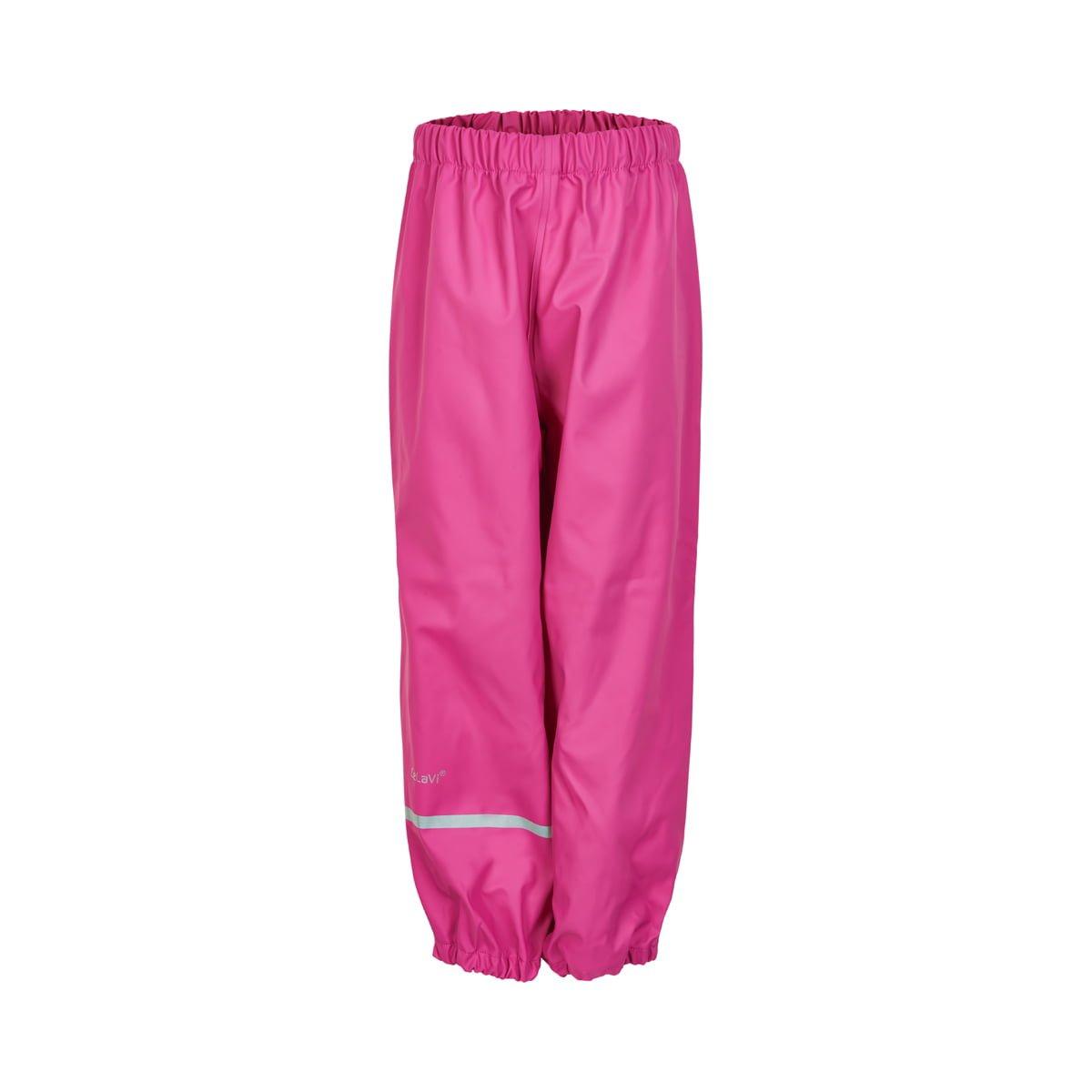 Pantaloni de ploaie și vânt (impermeabil) real pink CeLaVi 1