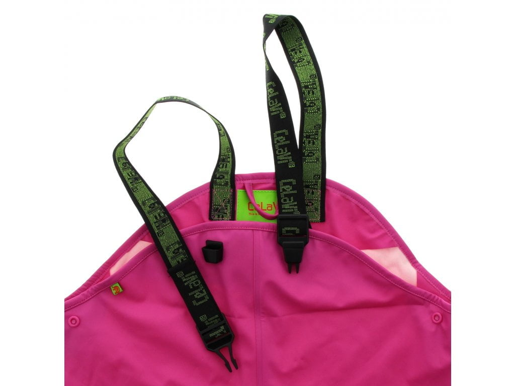 Pantaloni de ploaie și vânt (impermeabil) real pink CeLaVi 2