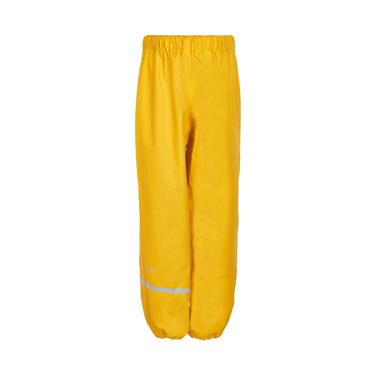 Pantaloni de ploaie și vânt (impermeabil) yellow CeLaVi 1