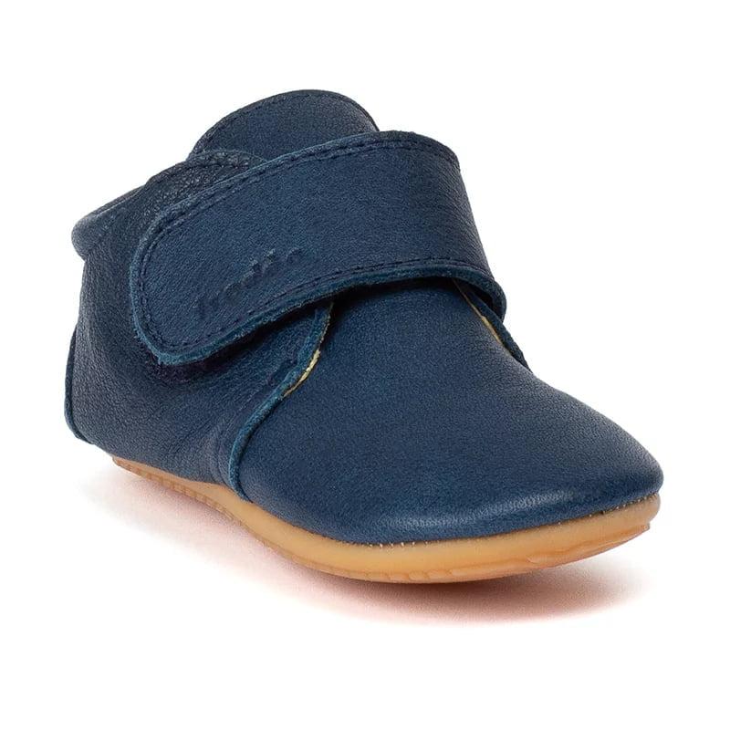 Pantofi barefoot din piele pentru primii pași dark blue Froddo 1