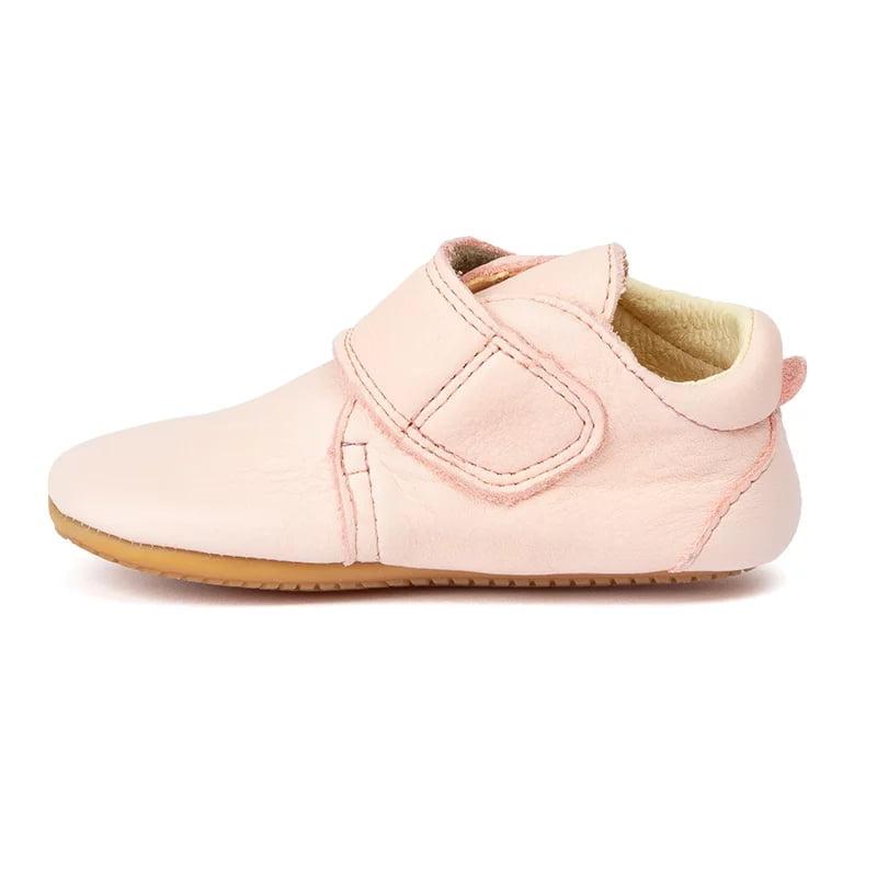 Pantofi barefoot din piele pentru primii pași pink Froddo 2