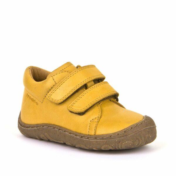 Pantofi din piele cu talpă extra flexibilă Froddo Yellow