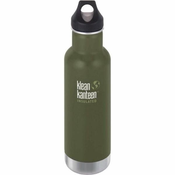 Sticlă termos recipient termoizolant cu capac etanş Loop Classic Fresh Pine 592 ml Klean Kanteen
