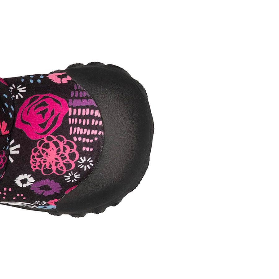 BOGS Footwear cizme de iarnă impermeabile B-MOC Garden Party Black Multi 3