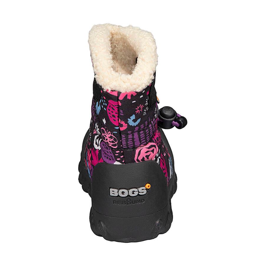 BOGS Footwear cizme de iarnă impermeabile B-MOC Garden Party Black Multi 4