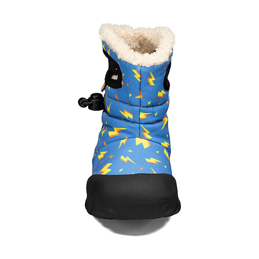 BOGS Footwear cizme de iarnă impermeabile B-MOC Lightning Royal Blue Multi 2