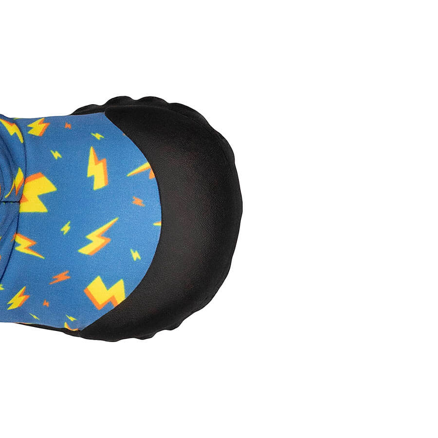 BOGS Footwear cizme de iarnă impermeabile B-MOC Lightning Royal Blue Multi 3
