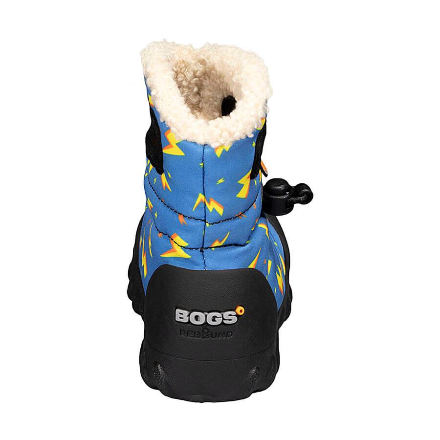 BOGS Footwear cizme de iarnă impermeabile B-MOC Lightning Royal Blue Multi 4