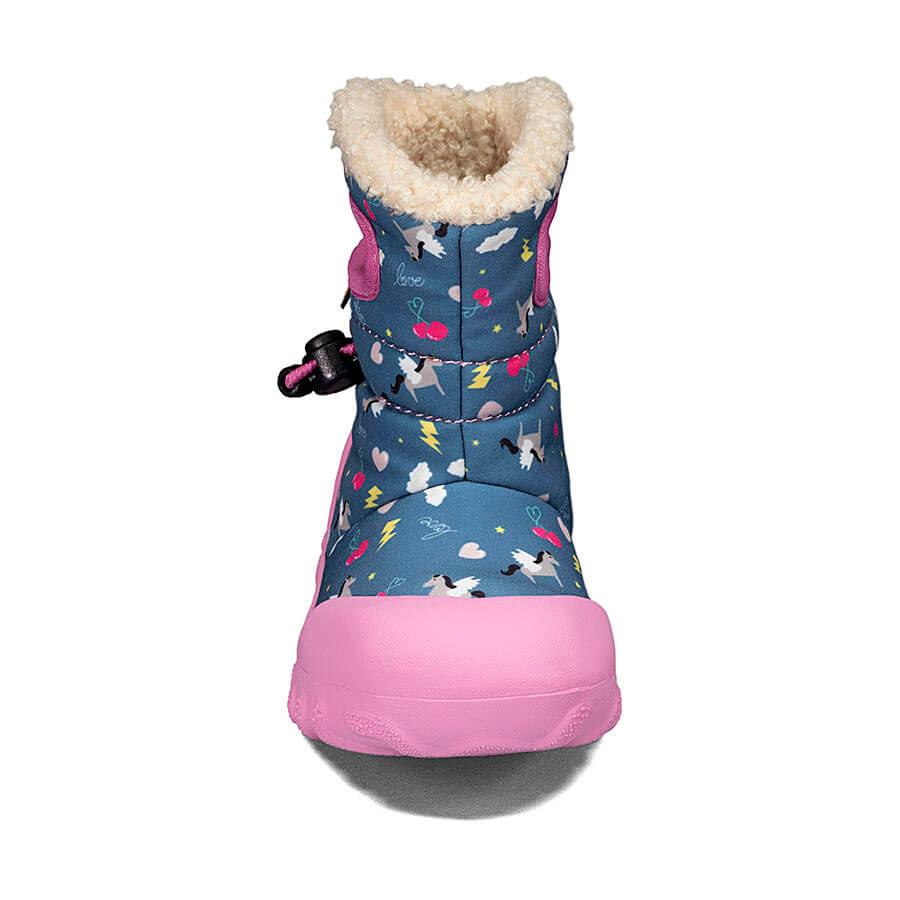 BOGS Footwear cizme de iarnă impermeabile B-MOC Pegasus Dark Blue Multi 2