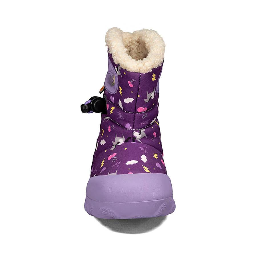 BOGS Footwear cizme de iarnă impermeabile B-MOC Pegasus Purple Multi 2