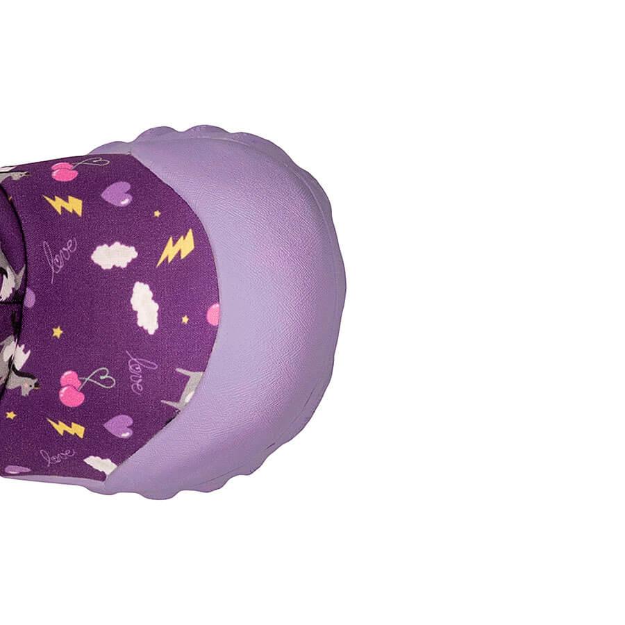 BOGS Footwear cizme de iarnă impermeabile B-MOC Pegasus Purple Multi 3