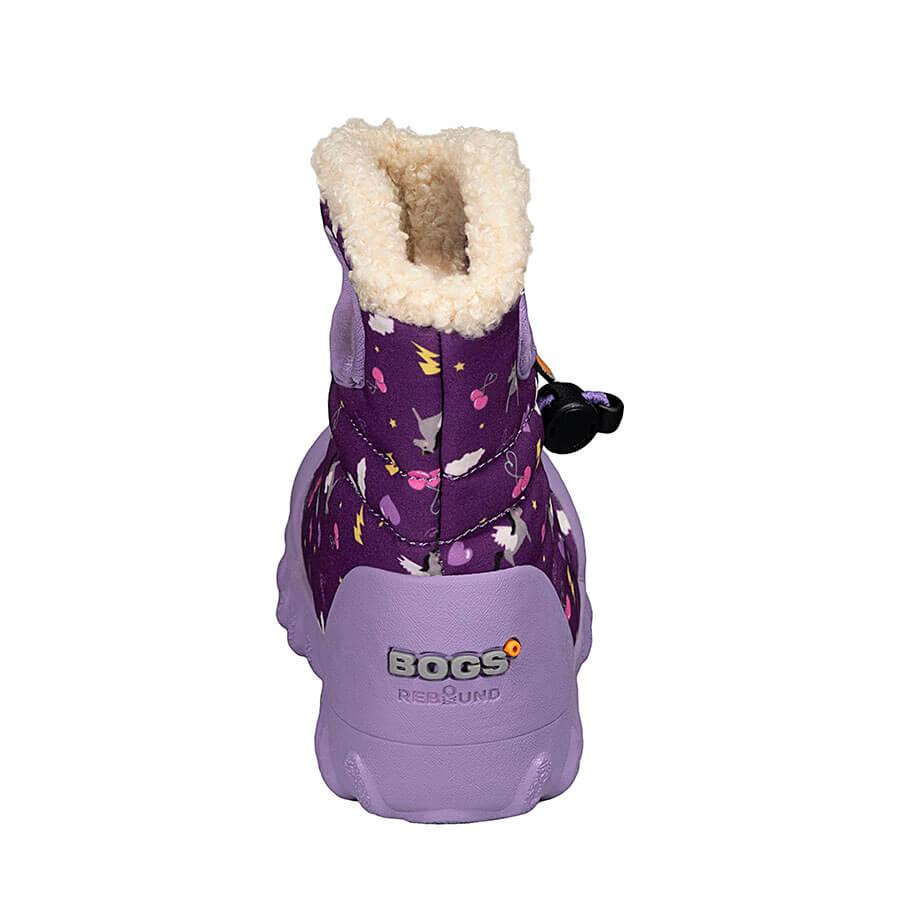 BOGS Footwear cizme de iarnă impermeabile B-MOC Pegasus Purple Multi 4