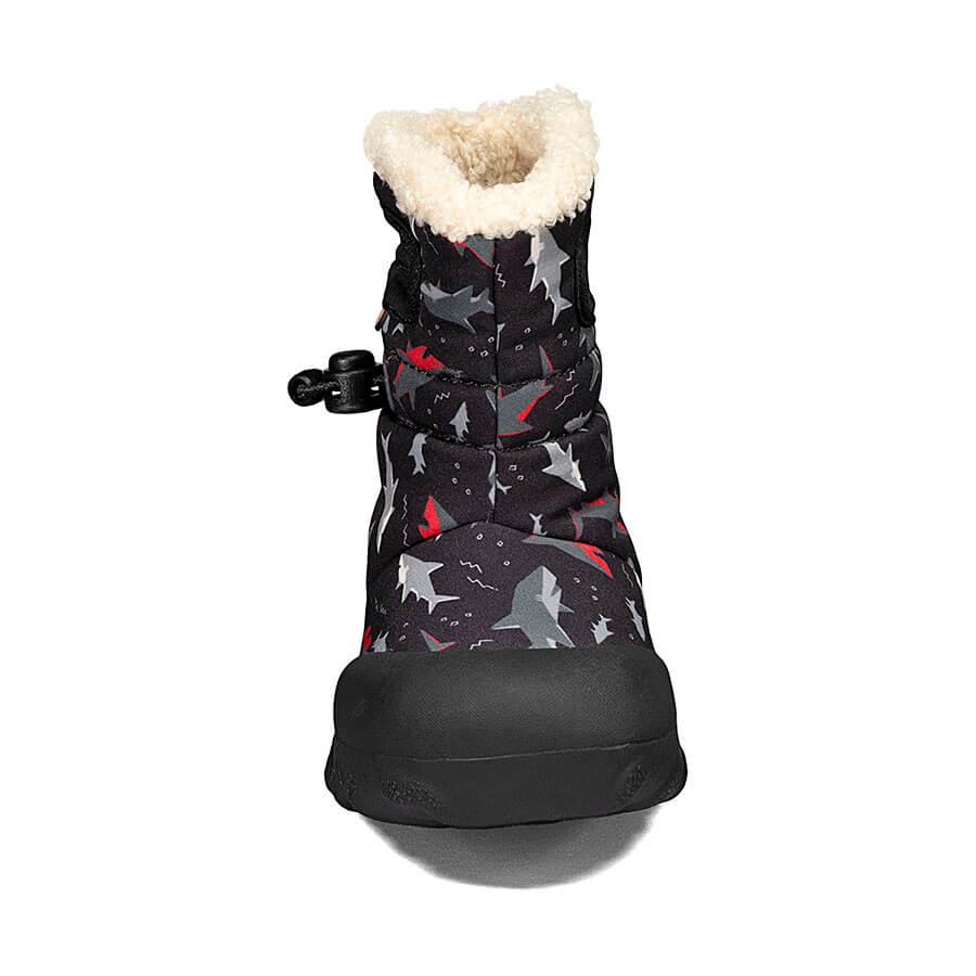 BOGS Footwear cizme de iarnă impermeabile B-MOC Sharks Black Multi 2