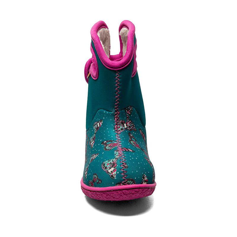 BOGS Footwear cizme de iarnă impermeabile Baby Bogs Butterfly Teal Multi 2