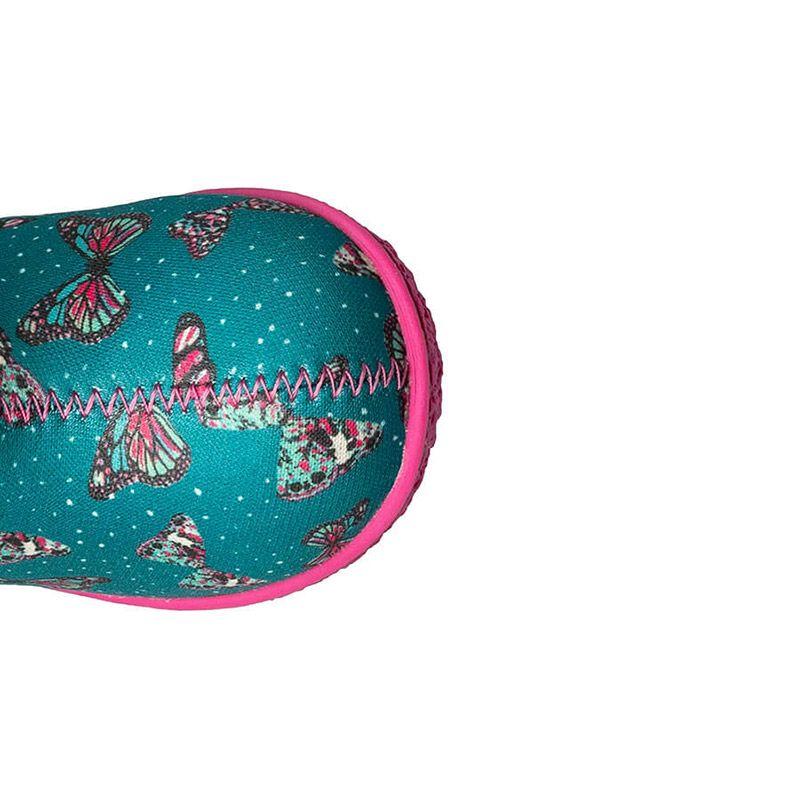 BOGS Footwear cizme de iarnă impermeabile Baby Bogs Butterfly Teal Multi 3