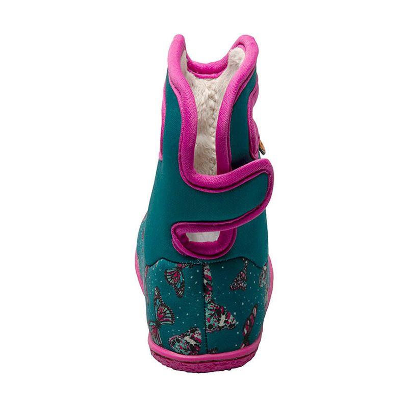 BOGS Footwear cizme de iarnă impermeabile Baby Bogs Butterfly Teal Multi 4