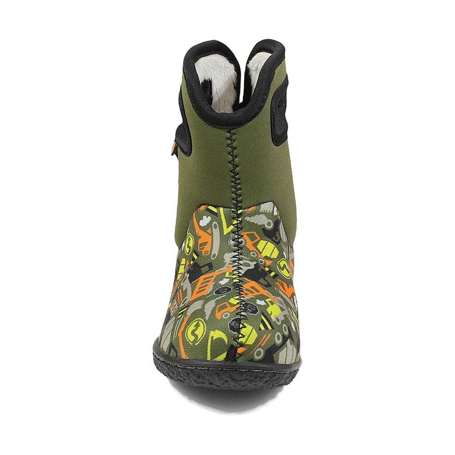 BOGS Footwear cizme de iarnă impermeabile Baby Bogs Construction Green Multi 2