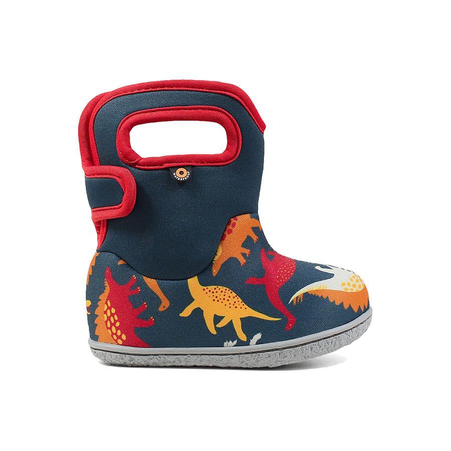 BOGS Footwear cizme de iarnă impermeabile Baby Bogs Dino Indigo Multi 1