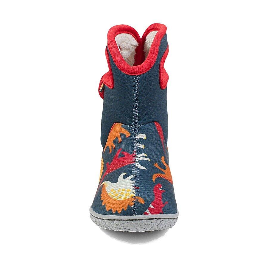 BOGS Footwear cizme de iarnă impermeabile Baby Bogs Dino Indigo Multi 2