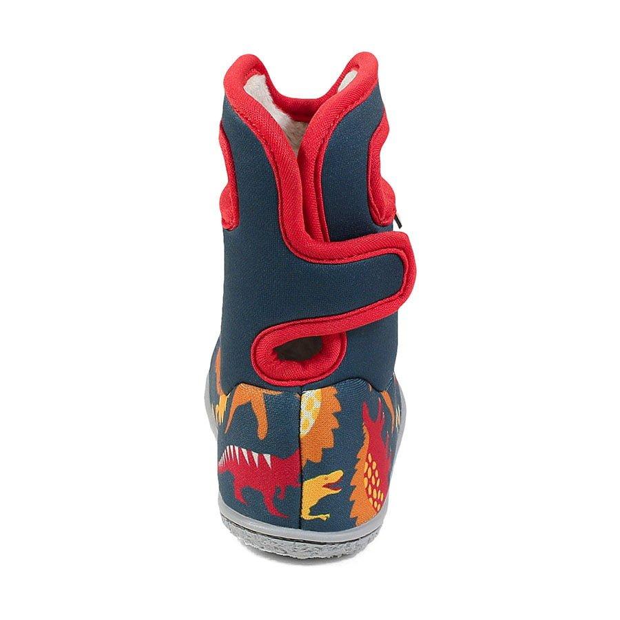 BOGS Footwear cizme de iarnă impermeabile Baby Bogs Dino Indigo Multi 4