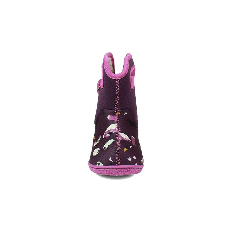 BOGS Footwear cizme de iarnă impermeabile Baby Bogs Farm Purple Multi 2