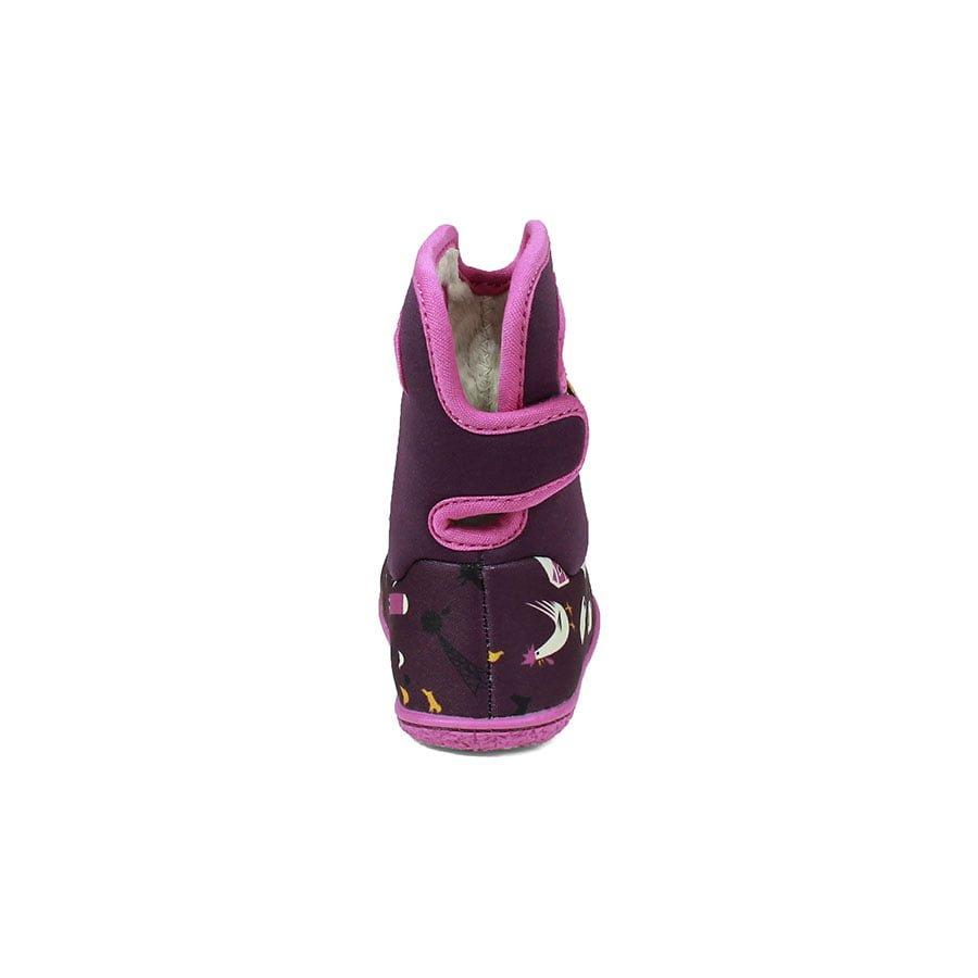 BOGS Footwear cizme de iarnă impermeabile Baby Bogs Farm Purple Multi 4