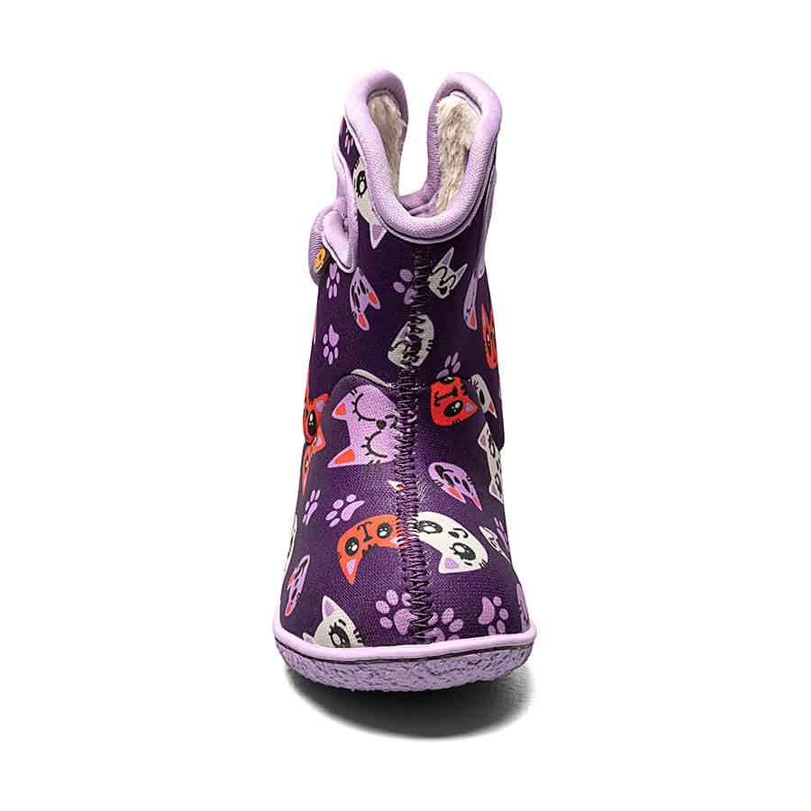 BOGS Footwear cizme de iarnă impermeabile Baby Bogs Kitty Purple Multi 2