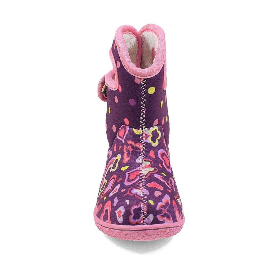BOGS Footwear cizme de iarnă impermeabile Baby Bogs Rainbow Purple Multi 2