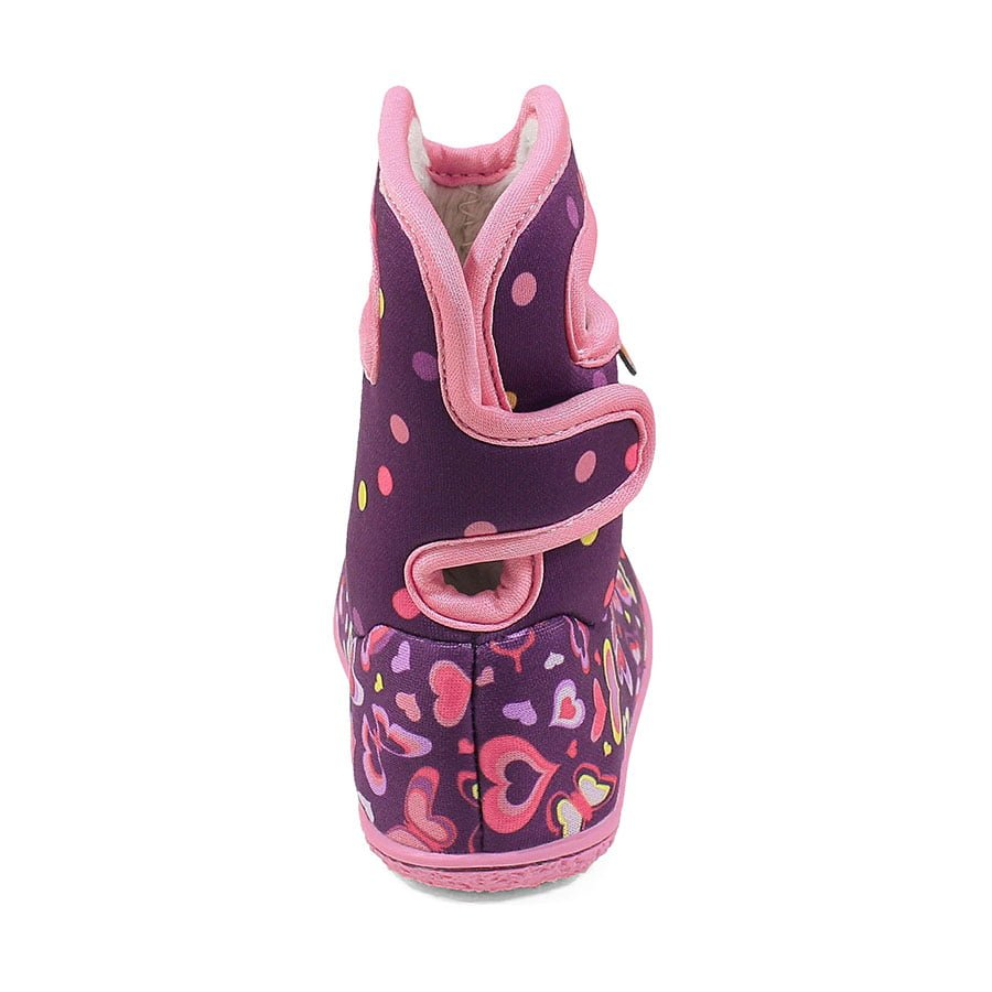 BOGS Footwear cizme de iarnă impermeabile Baby Bogs Rainbow Purple Multi 4
