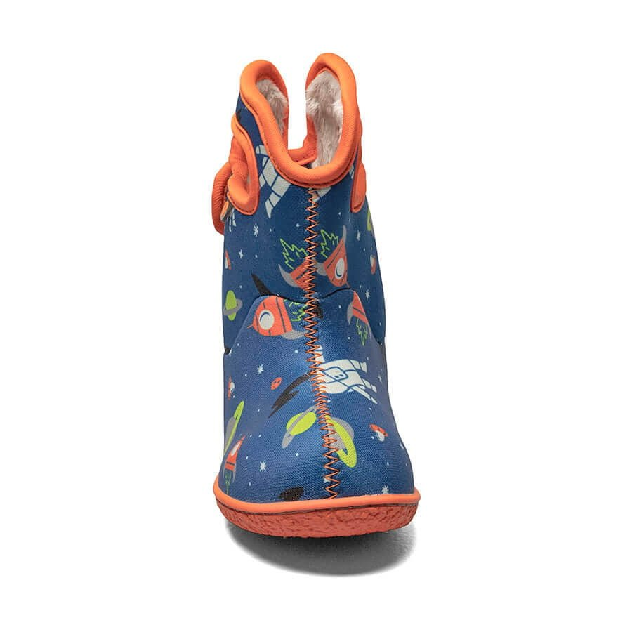 BOGS Footwear cizme de iarnă impermeabile Baby Bogs Spaceman Blue Multi 2