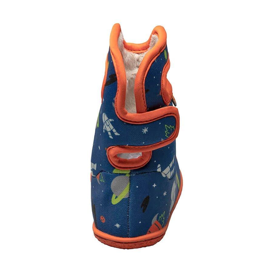 BOGS Footwear cizme de iarnă impermeabile Baby Bogs Spaceman Blue Multi 4