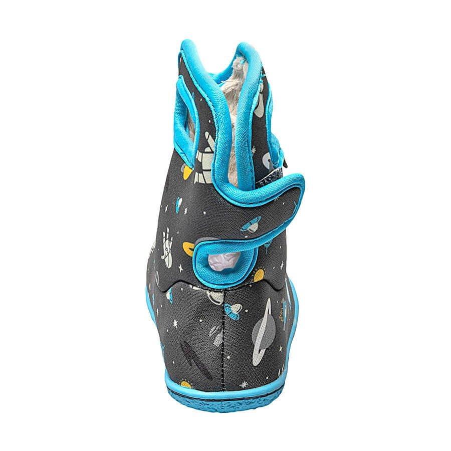 BOGS Footwear cizme de iarnă impermeabile Baby Bogs Spaceman Dark Grey Multi 4