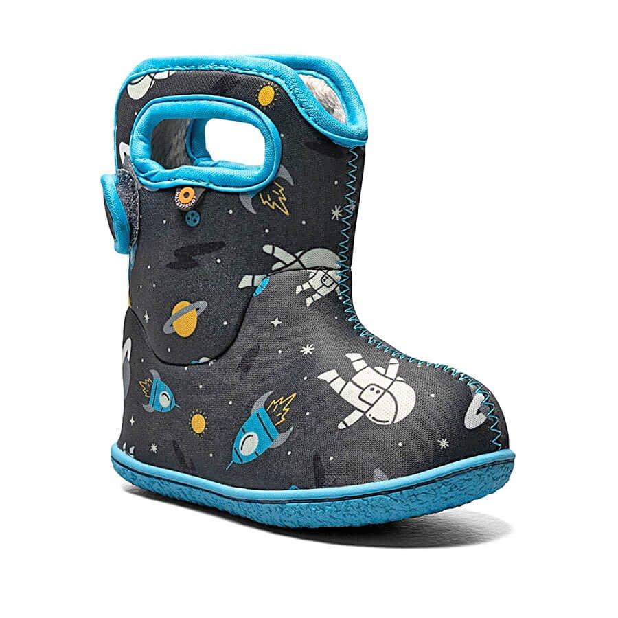 BOGS Footwear cizme de iarnă impermeabile Baby Bogs Spaceman Dark Grey Multi