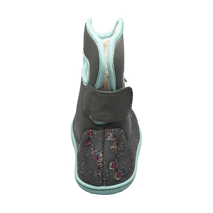 BOGS Footwear cizme de iarnă impermeabile Baby Bogs Youngster Butterfly Dark Grey Multi 4