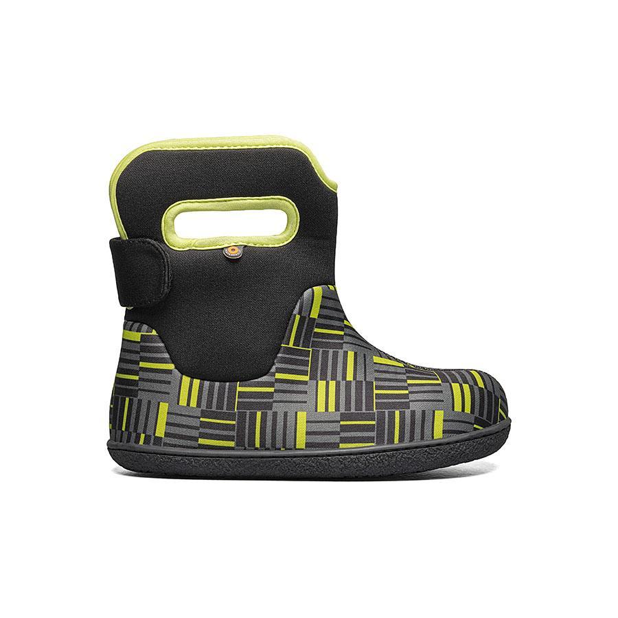 BOGS Footwear cizme de iarnă impermeabile Baby Bogs Youngster Phaser Black Multi 1