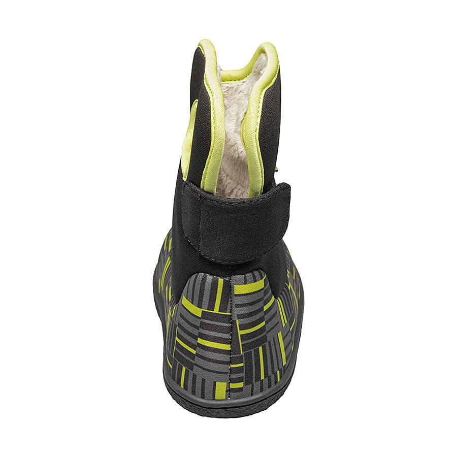 BOGS Footwear cizme de iarnă impermeabile Baby Bogs Youngster Phaser Black Multi 4