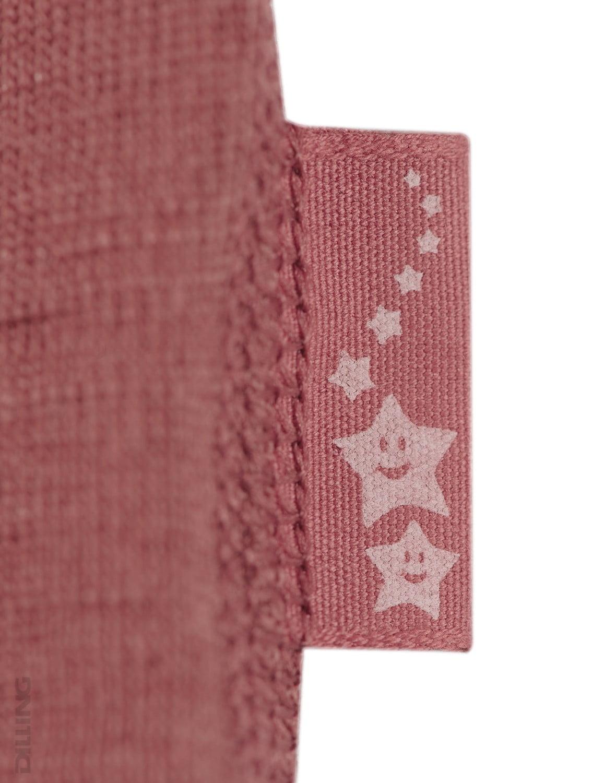 Bluză cu mânecă lungă rouge din lână merinos organică pentru copii Dilling 4