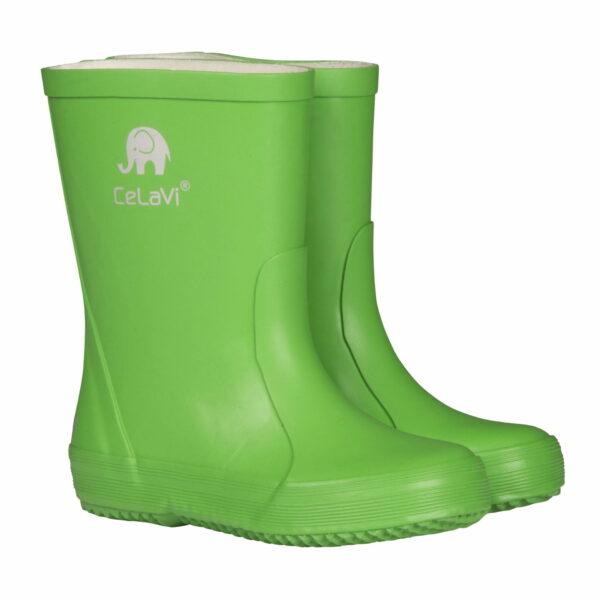 Cizme din cauciuc natural pentru copii green CeLaVi