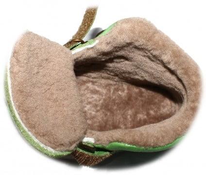 Ghete din piele căptuşite cu blană de miel şi talpă flexibilă denim Froddo 5