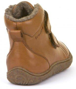 Ghete din piele căptuşite cu lână naturală şi talpă flexibilă brown Froddo 4