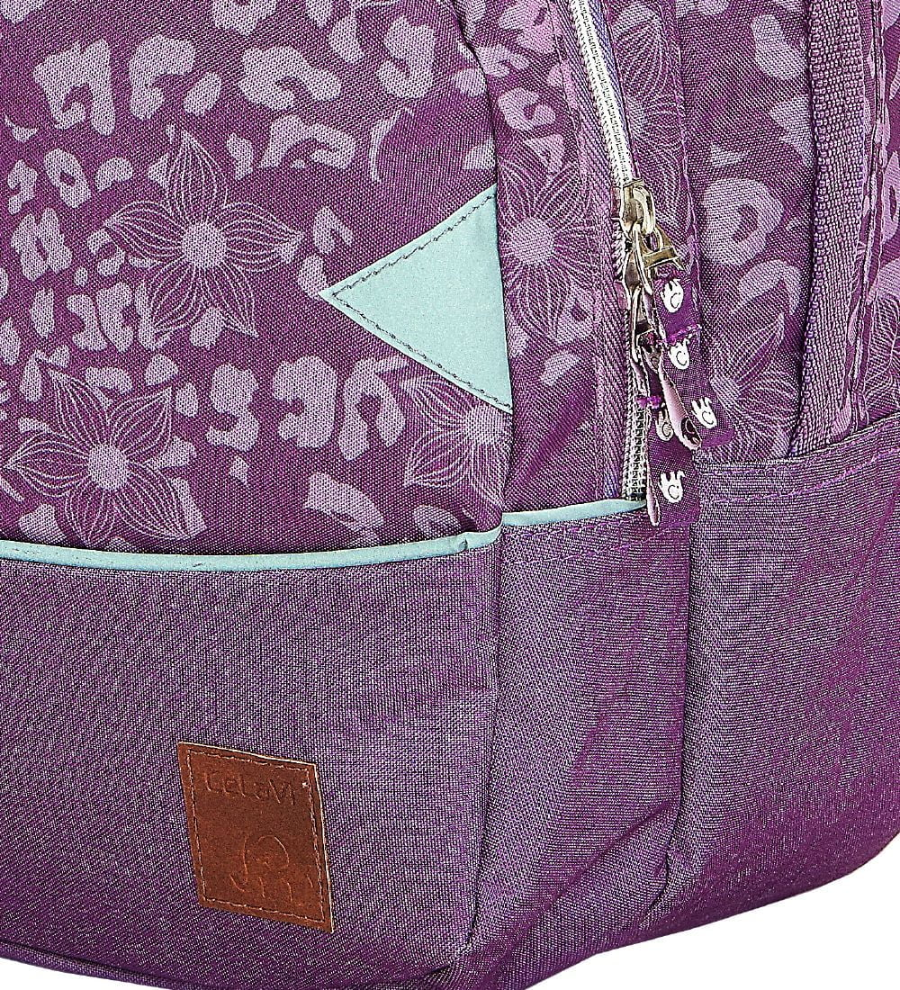 Ghiozdan ergonomic purple pentru grădiniță CeLaVi 4