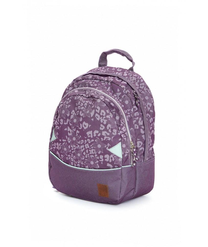 Ghiozdan ergonomic purple pentru grădiniță CeLaVi