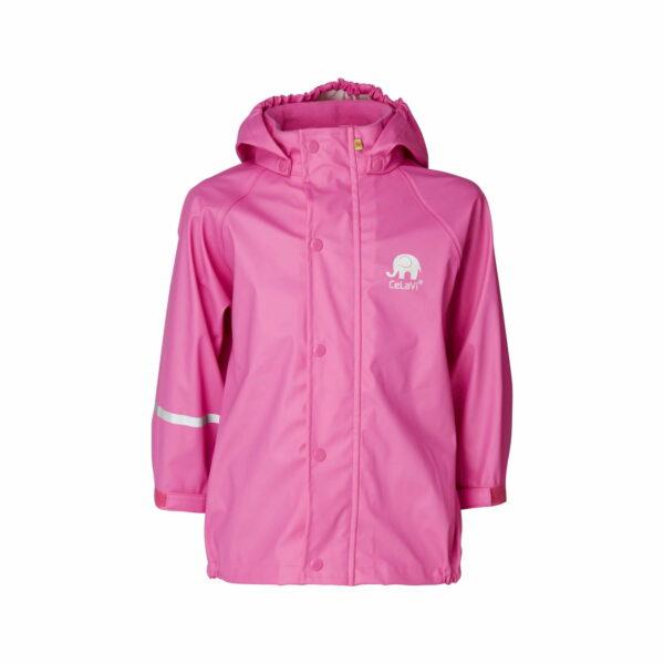 Jachetă de ploaie și vânt real pink CeLaVi