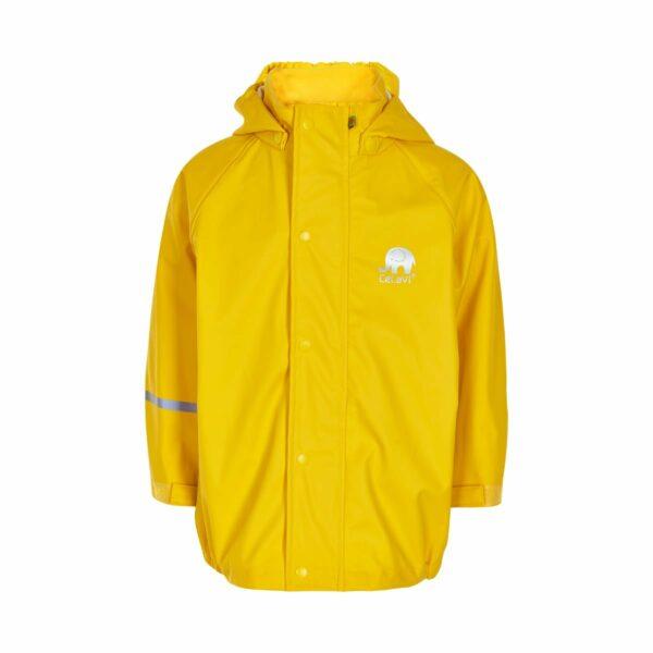 Jachetă de ploaie și vânt yellow CeLaVi