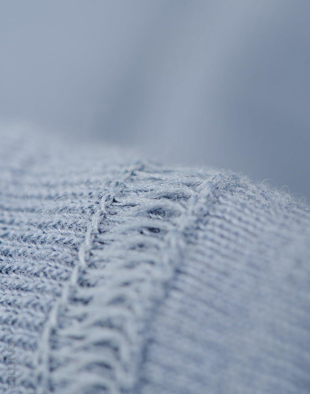 Pantaloni colanţi blue din lână merinos organică pentru bebeluşi Dilling 3