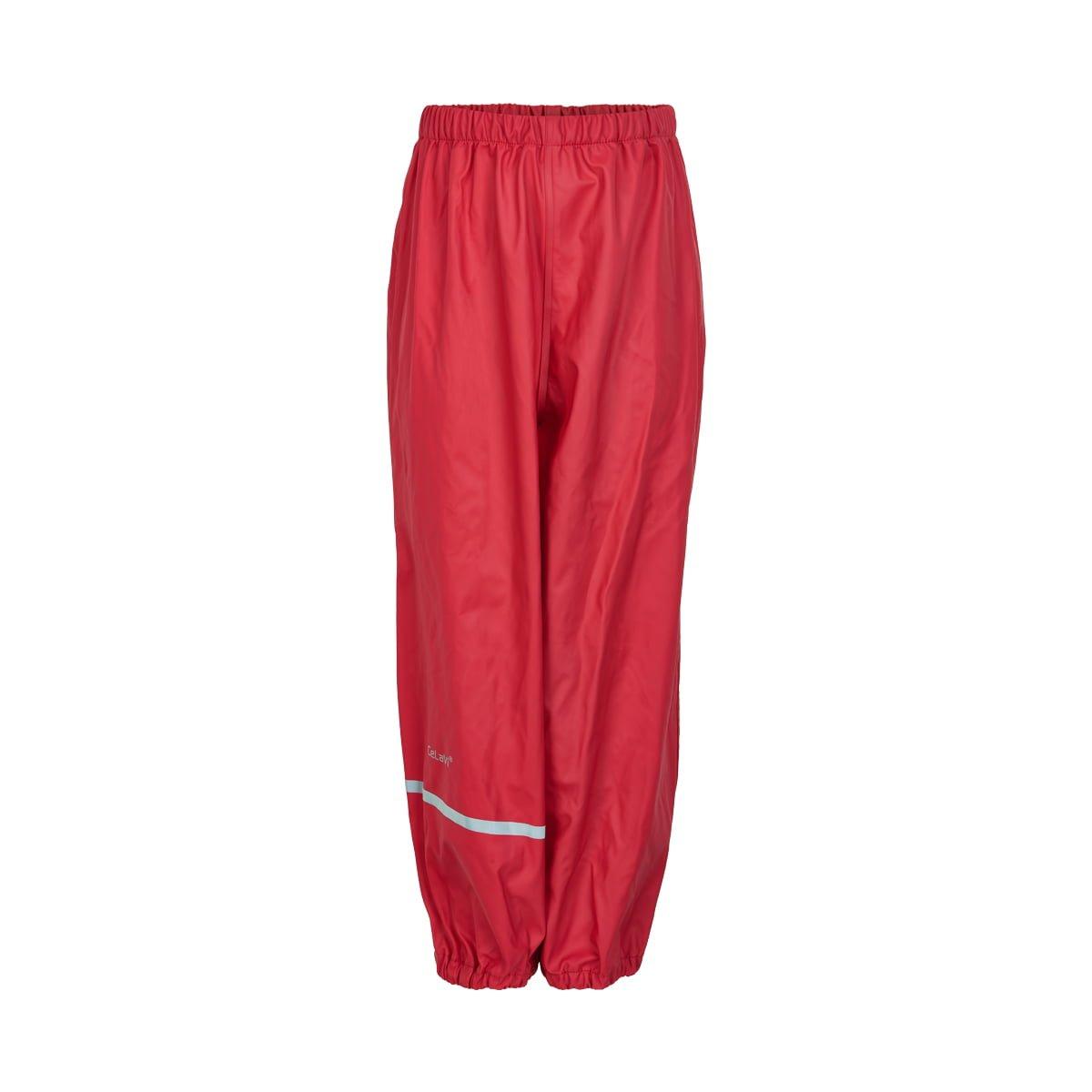 Pantaloni de ploaie și vânt (impermeabil) red CeLaVi 1