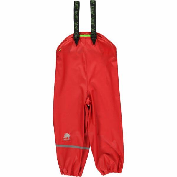 Pantaloni de ploaie și vânt (impermeabil) red CeLaVi