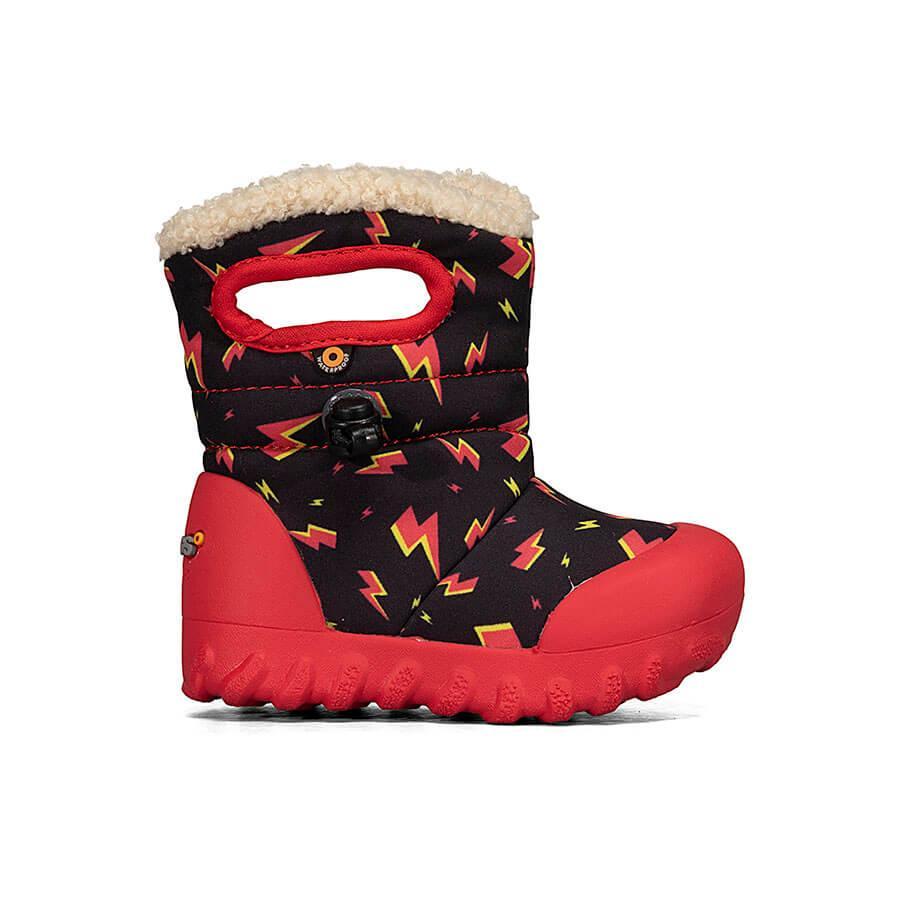 BOGS Footwear cizme de iarnă impermeabile B-MOC Lightning Black Multi 1