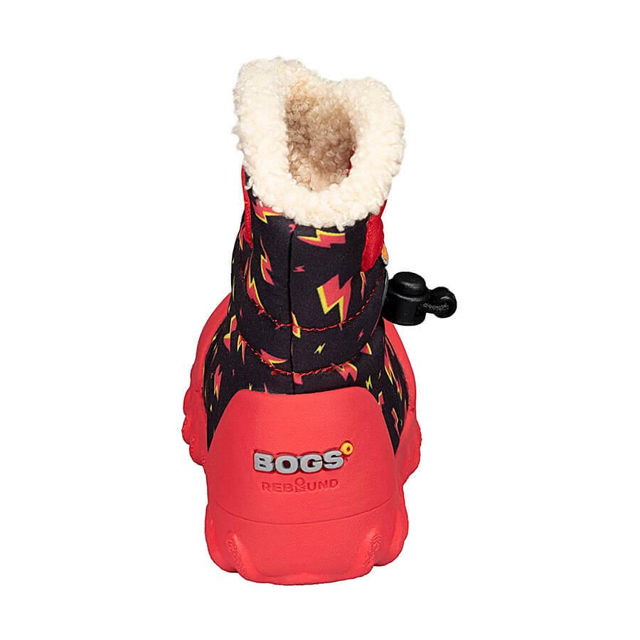 BOGS Footwear cizme de iarnă impermeabile B-MOC Lightning Black Multi 4